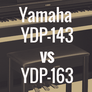 Yamaha Arius YDP-143 vs Yamaha YDP-163 Comparison Review