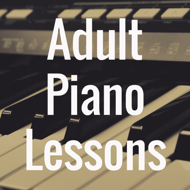 5 Adult Piano Lessons to Master the Piano