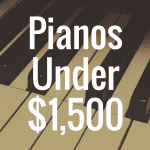 What's the Best Digital Piano Under $1,500?