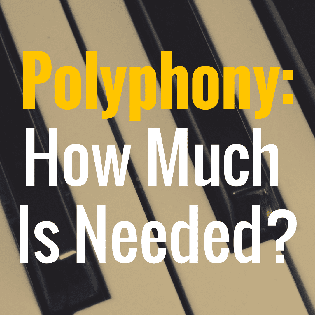 How Much Polyphony Do I Need for My Piano?