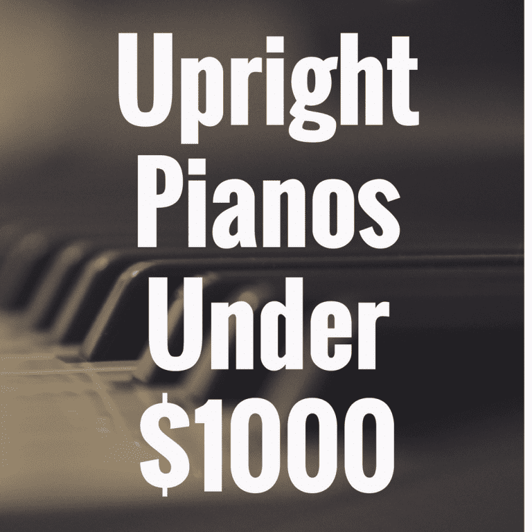 What's the Best Upright Digital Piano Under $1,000?