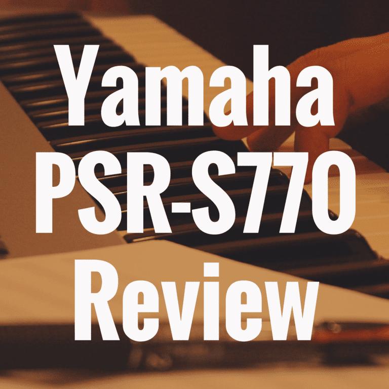 Yamaha PSR-S770 review