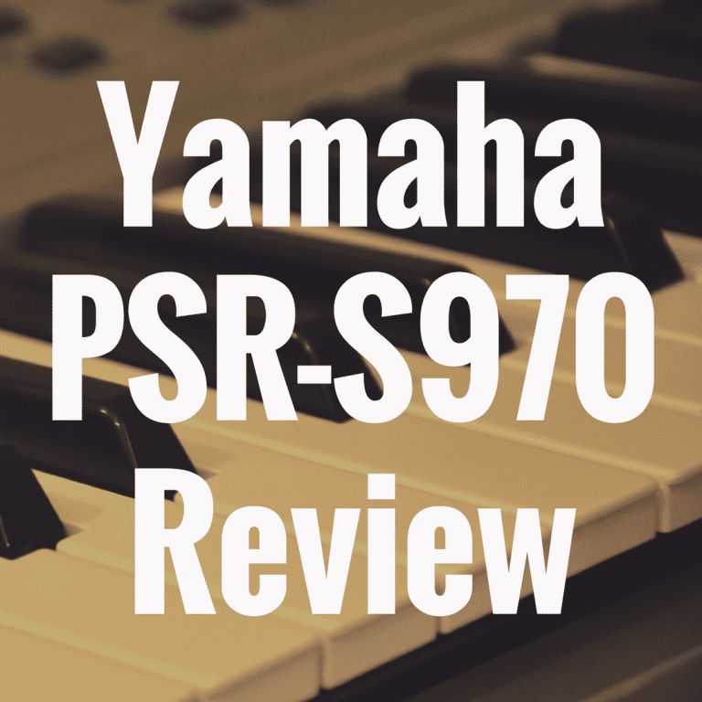 Yamaha PSR-S970 review