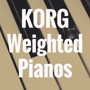 Guide to the Best Korg Digital Pianos with Weighted Keys