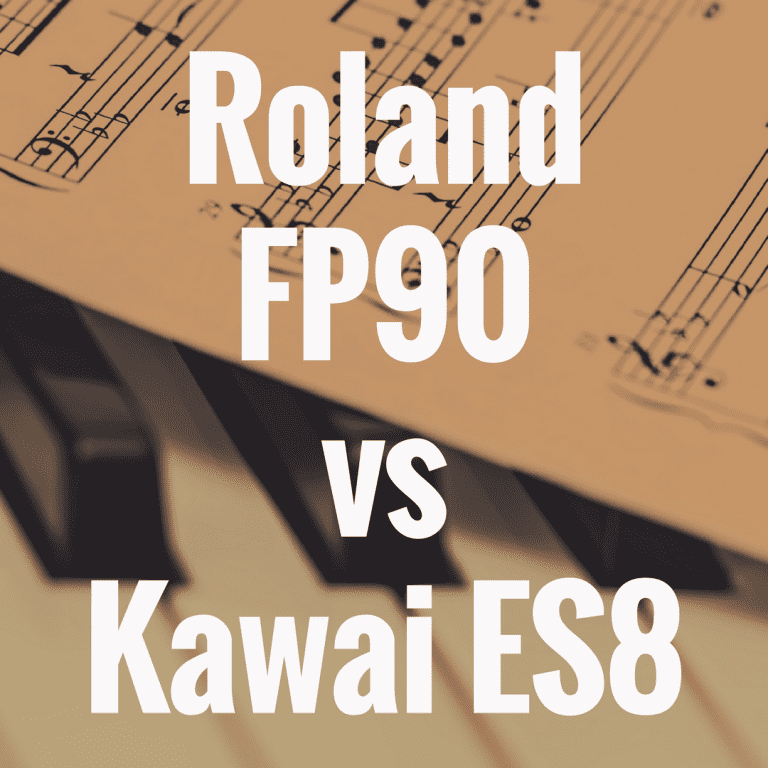 Kawai ES8 vs Roland FP90: Which is Better?