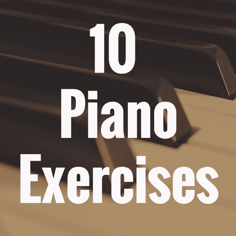 10 Piano Exercises for Beginners You Must Try