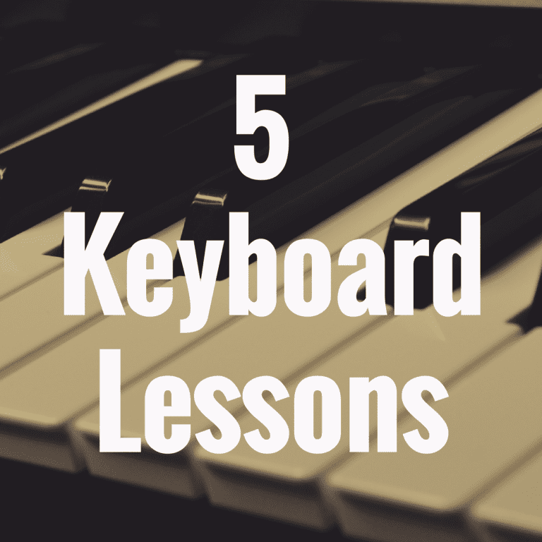 5 Keyboard Lessons for Beginners to Have Success
