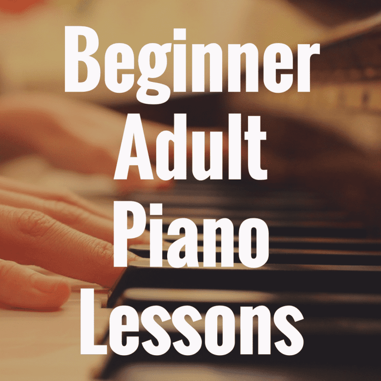 Beginner Piano Lessons for Adults: Key Tips and Exercises