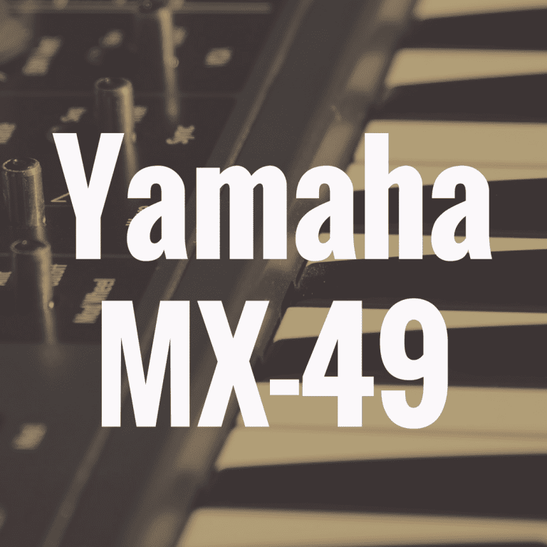 Yamaha MX49 review
