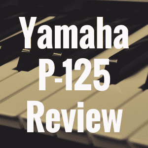 Yamaha P-125 review