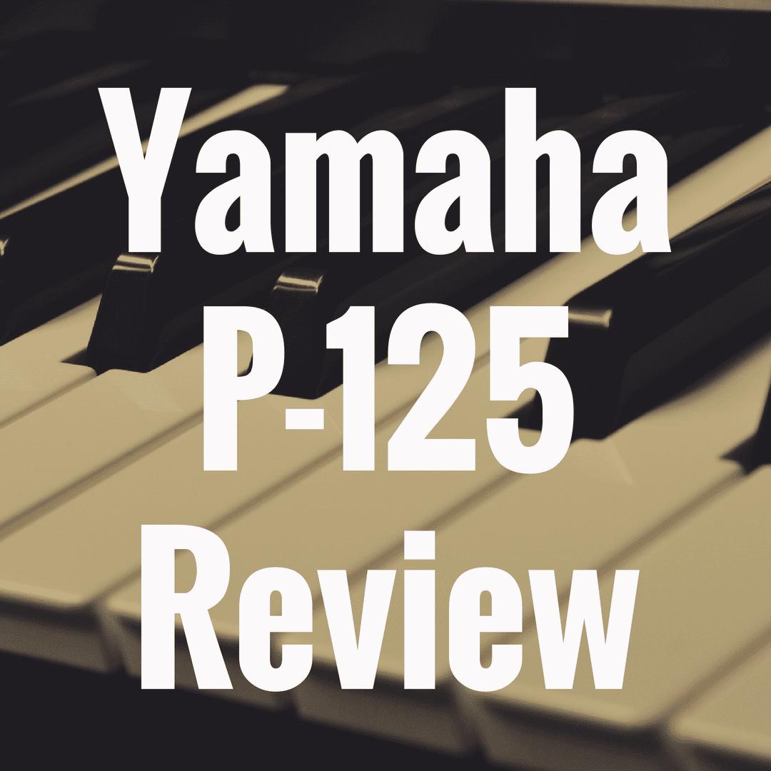 Yamaha P-125 review