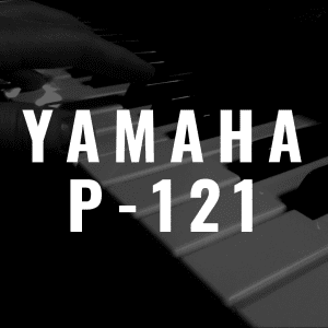 Yamaha P-121 review: A smaller version of the Yamaha P-125