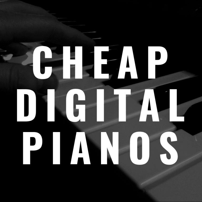 8 Cheap Digital Pianos with Weighted Keys for Budget-Conscious Pianists