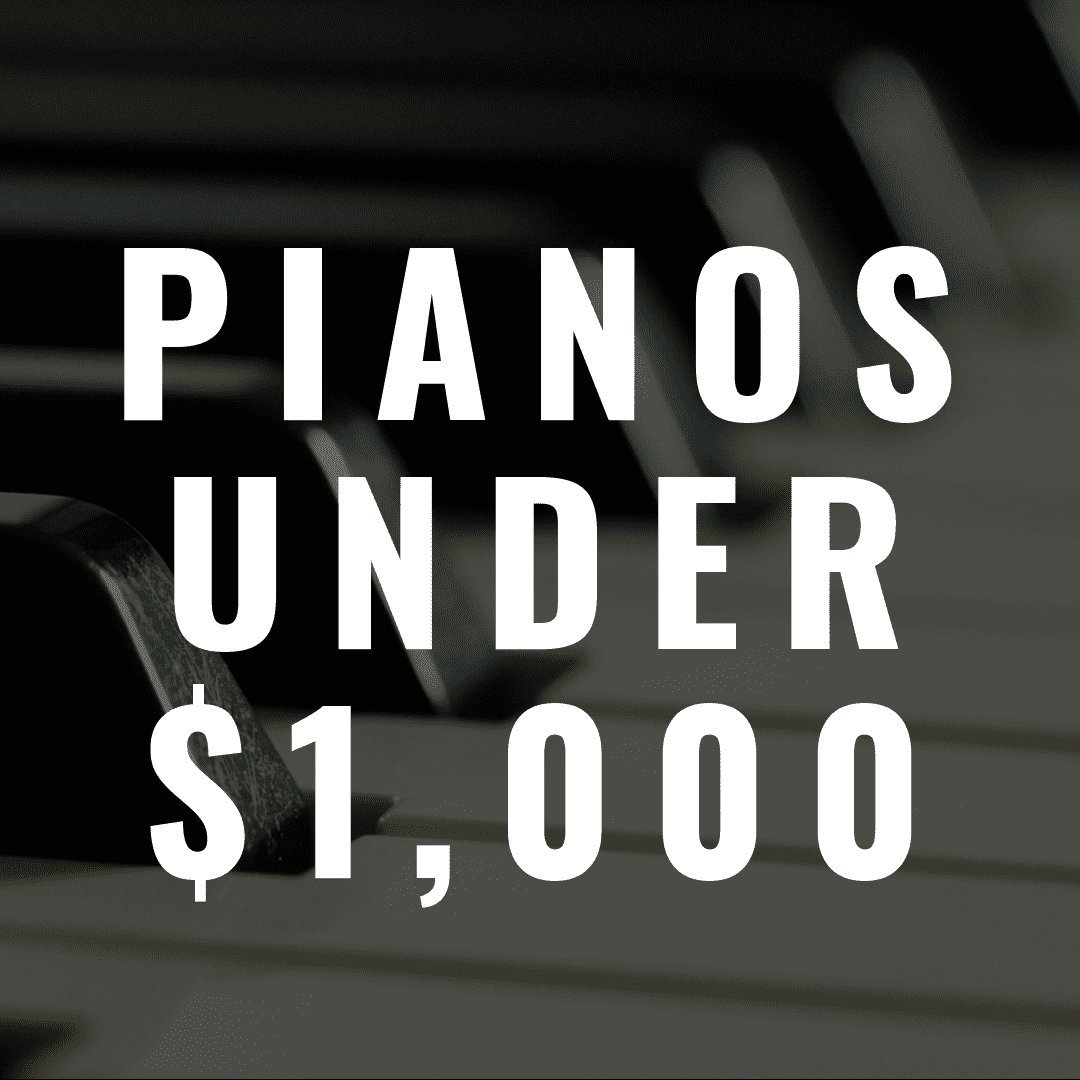 7 Digital Pianos Under $1,000 That Sound and Feel Amazing
