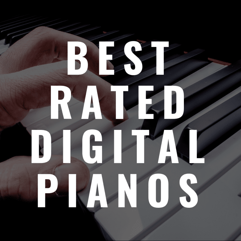 The 7 Best Rated Digital Pianos You'll Really Enjoy