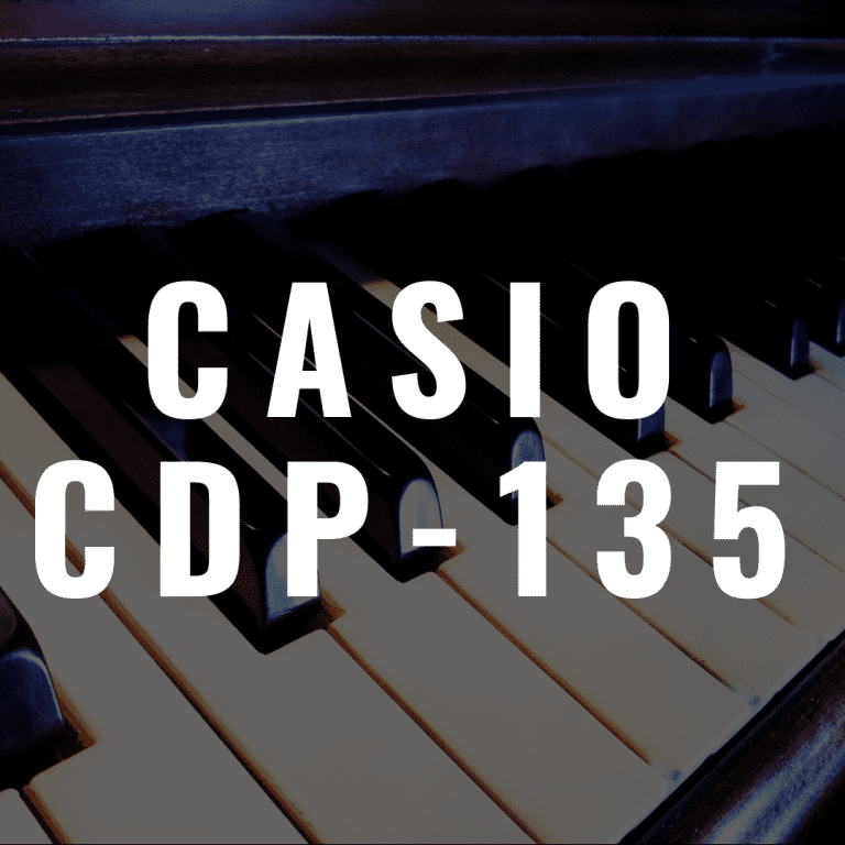 Casio CDP-135 review: A Good Beginner Digital Piano?