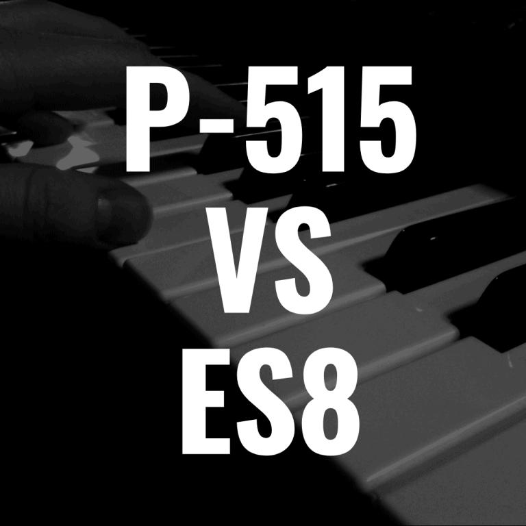 Yamaha P515 vs Kawai ES8: Which Portable Piano is Best?