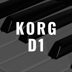 Korg D1 review: Better than the Korg B1 and Yamaha P-125?