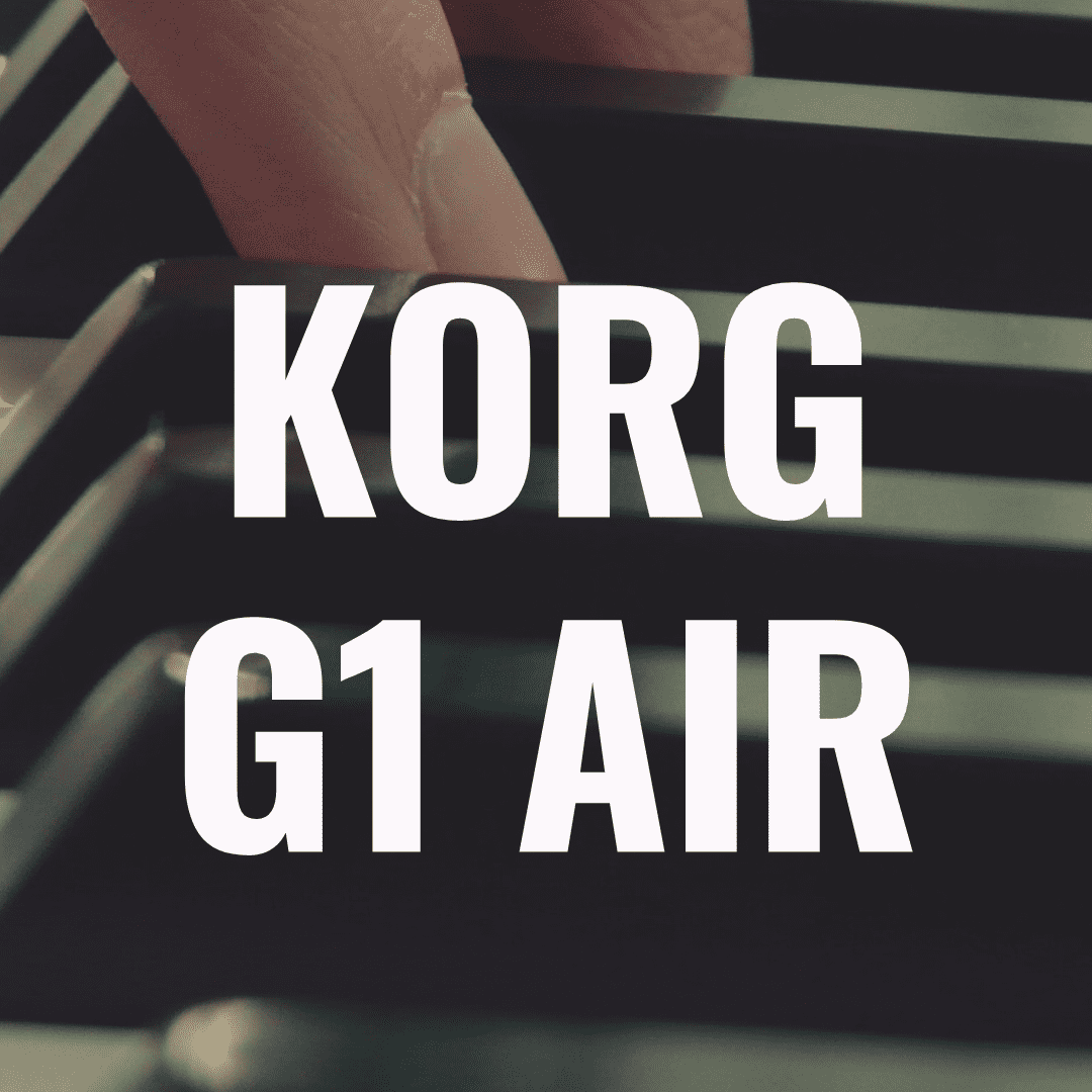 Korg G1 Air review: A High End Bluetooth Digital Piano?