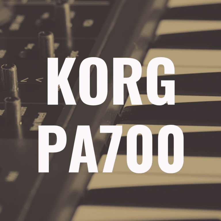 Korg Pa700 review