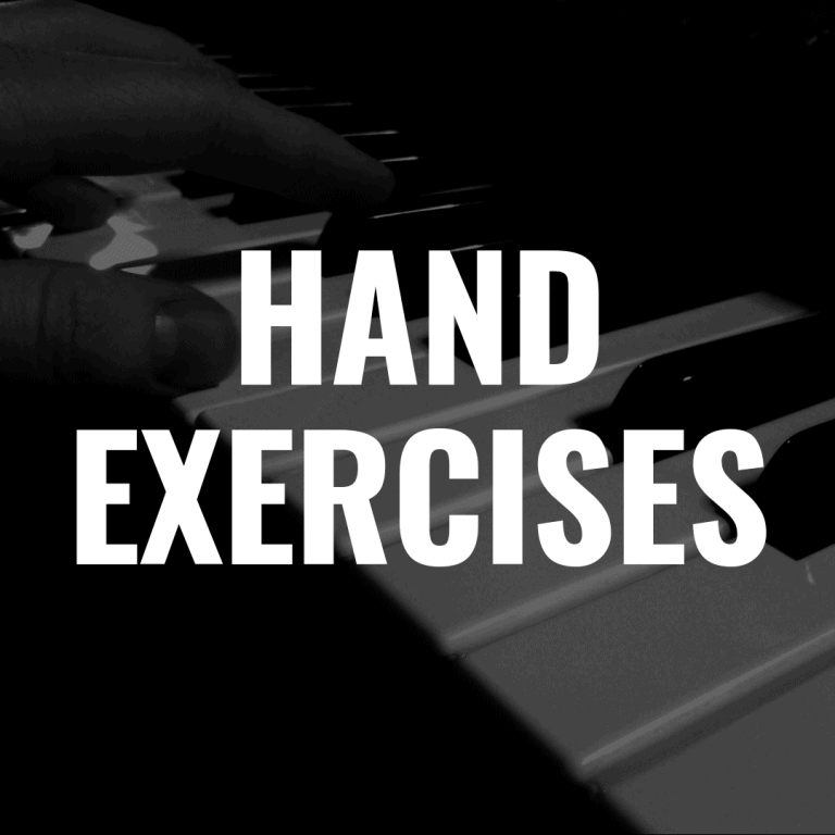 5 Hand Exercises for Piano Beginners That You'll Love