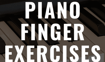 Discover some of the best piano finger exercises you can do!