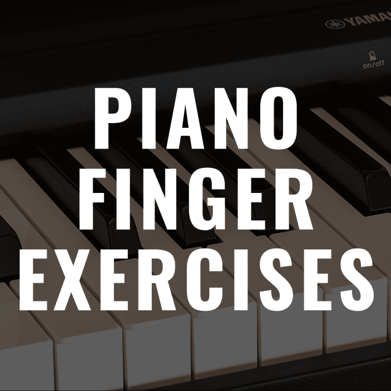 The 7 Best Piano Finger Exercises All Beginners Should Do to Have Success