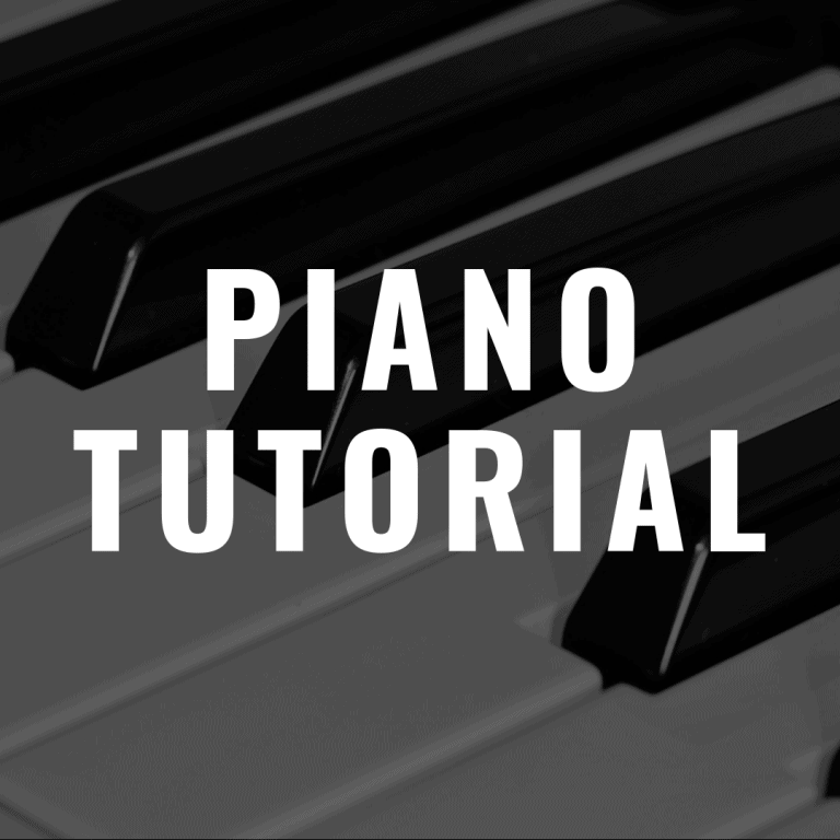 Piano Tutorial for Beginners of All Ages: Chords, Scales and More!
