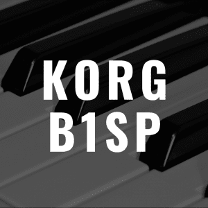 Korg B1SP review: Better Than the Yamaha P-125?