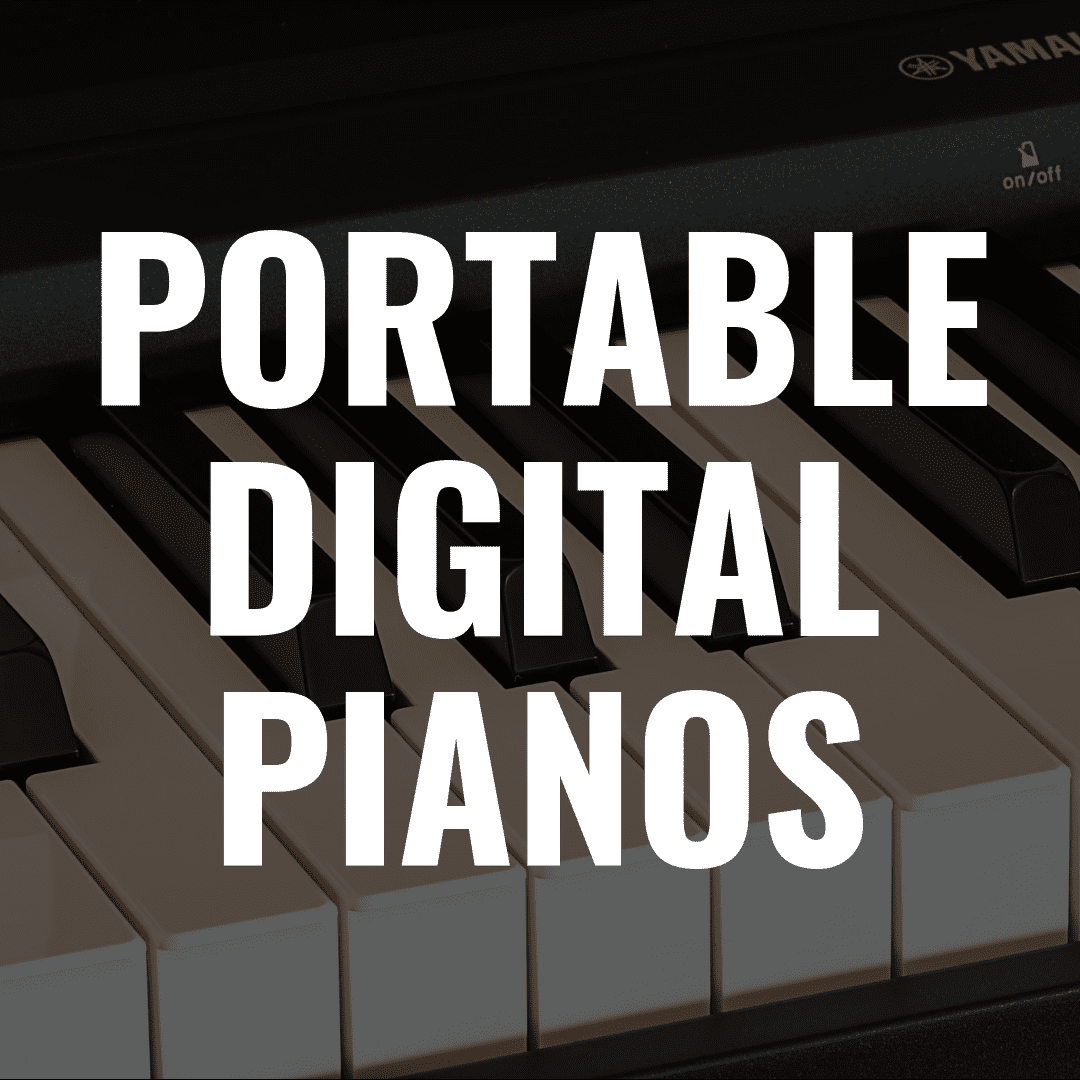 7 Best Portable Digital Pianos with Weighted Keys and Great Key Action