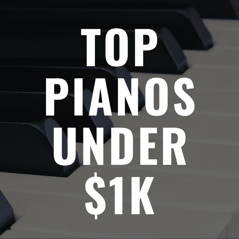 13 Best Digital Pianos Under $1,000 in 2019 You'll Love