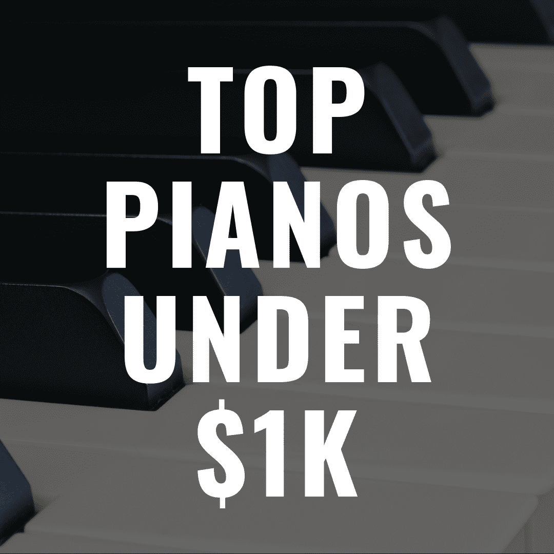 The 8 Best Digital Pianos Under $1,000 That Are Incredible