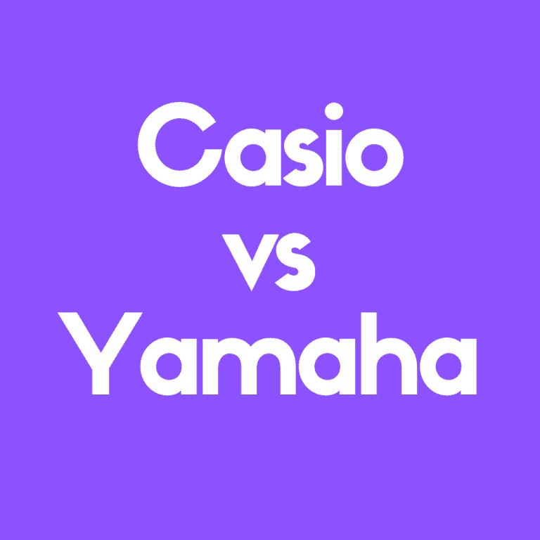 Casio vs. Yamaha Keyboards: Best Digital Pianos Today?