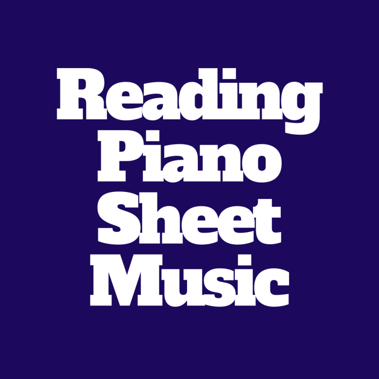 How to Read Piano Sheet Music for Beginners