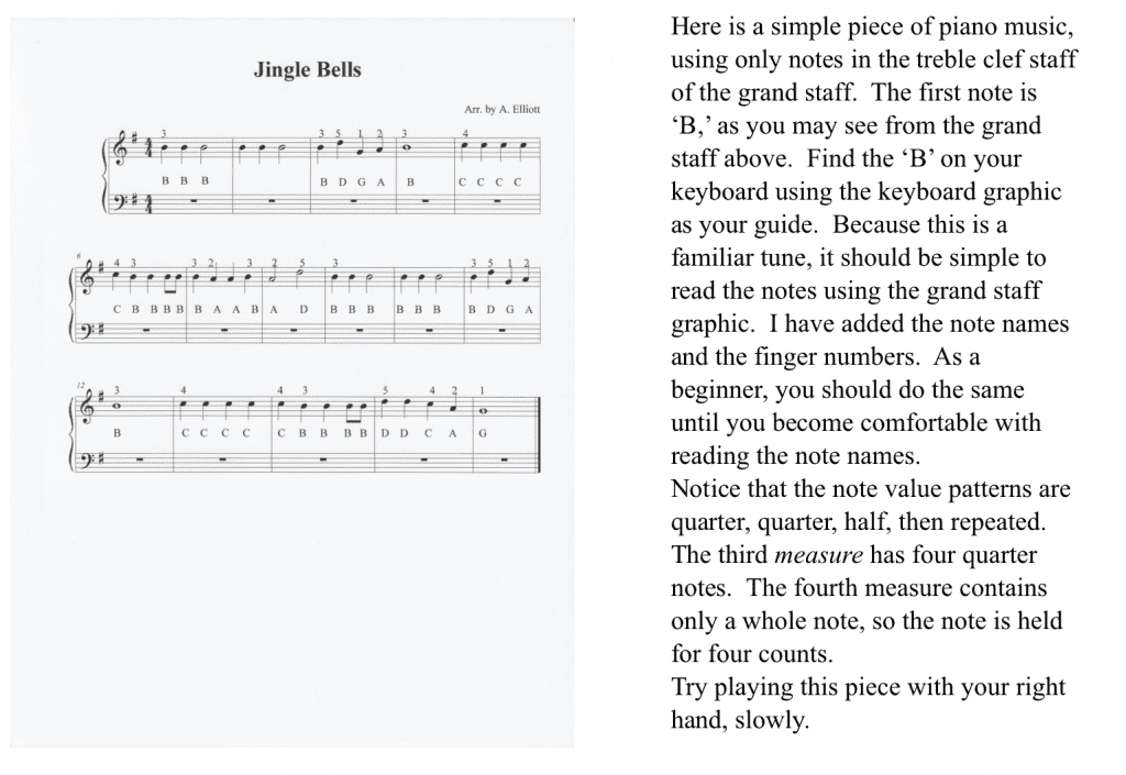Learn how to read piano sheet music