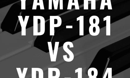 Yamaha YDP 181 vs. Yamaha YDP-184: Which Arius Piano Is Better?