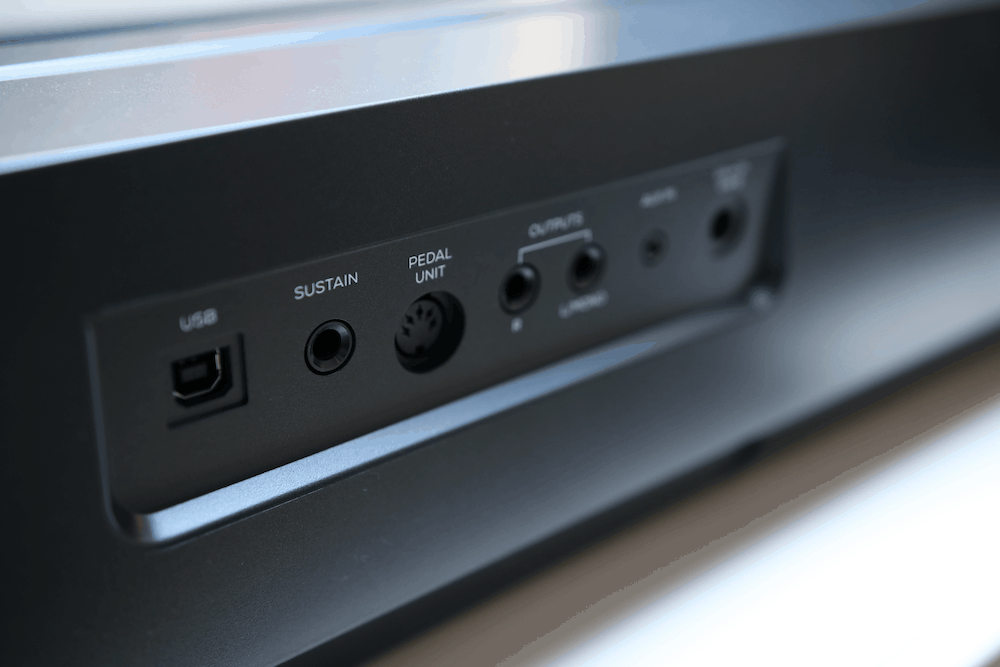 Inputs and outputs of the Alesis Prestige Artist